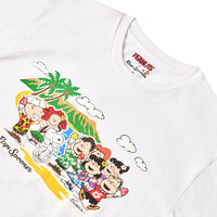 Reyn Spooner PEANUTS IN HAWAII TEE in WHITE