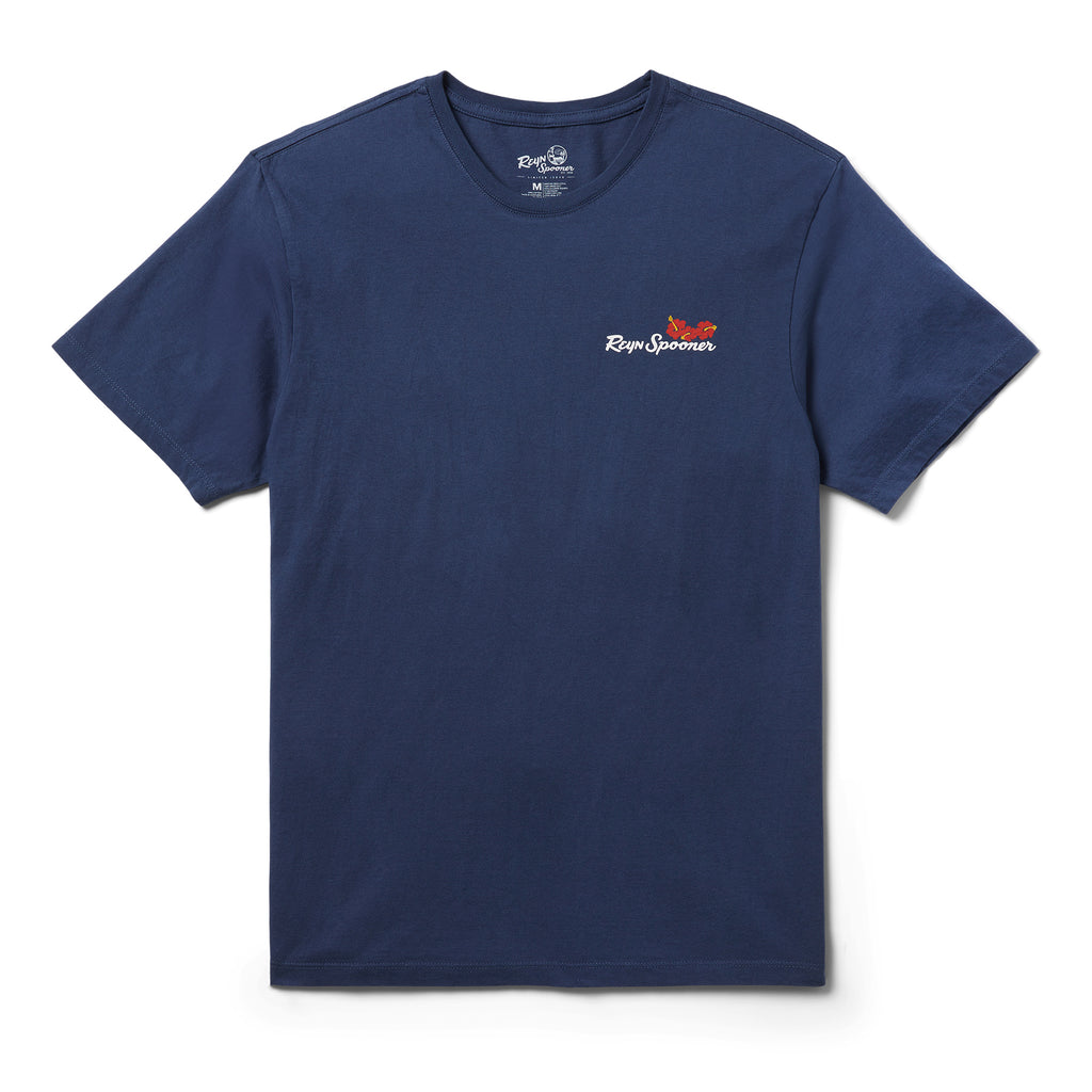 Reyn Spooner SUMMER COMMEMORATIVE 2021 TEE in NAVY