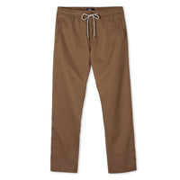 Reyn Spooner Mens beach pants in Khaki with drawstring waistband