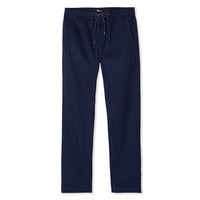 Reyn Spooner Mens beach pants in Navy with drawstring waistband