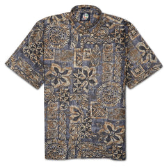 Reyn Spooner Kaapuni Hawaiian Shirt in CHARCOAL