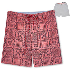 Reyn Spooner Original Lahaina Reversible Shorts in RED