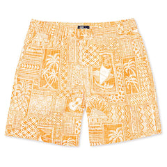 Reyn Spooner Tapa Wrappa Short in BUTTERSCOTCH