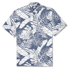 Reyn Spooner Anuenue Falls Classic Fit Pullover Shirt in INK