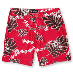 Reyn Spooner Old School Reyn's Swim Short in CHERRY