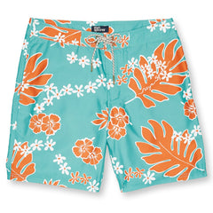 Reyn Spooner Old School Reyn's Swim Short in LAGOON