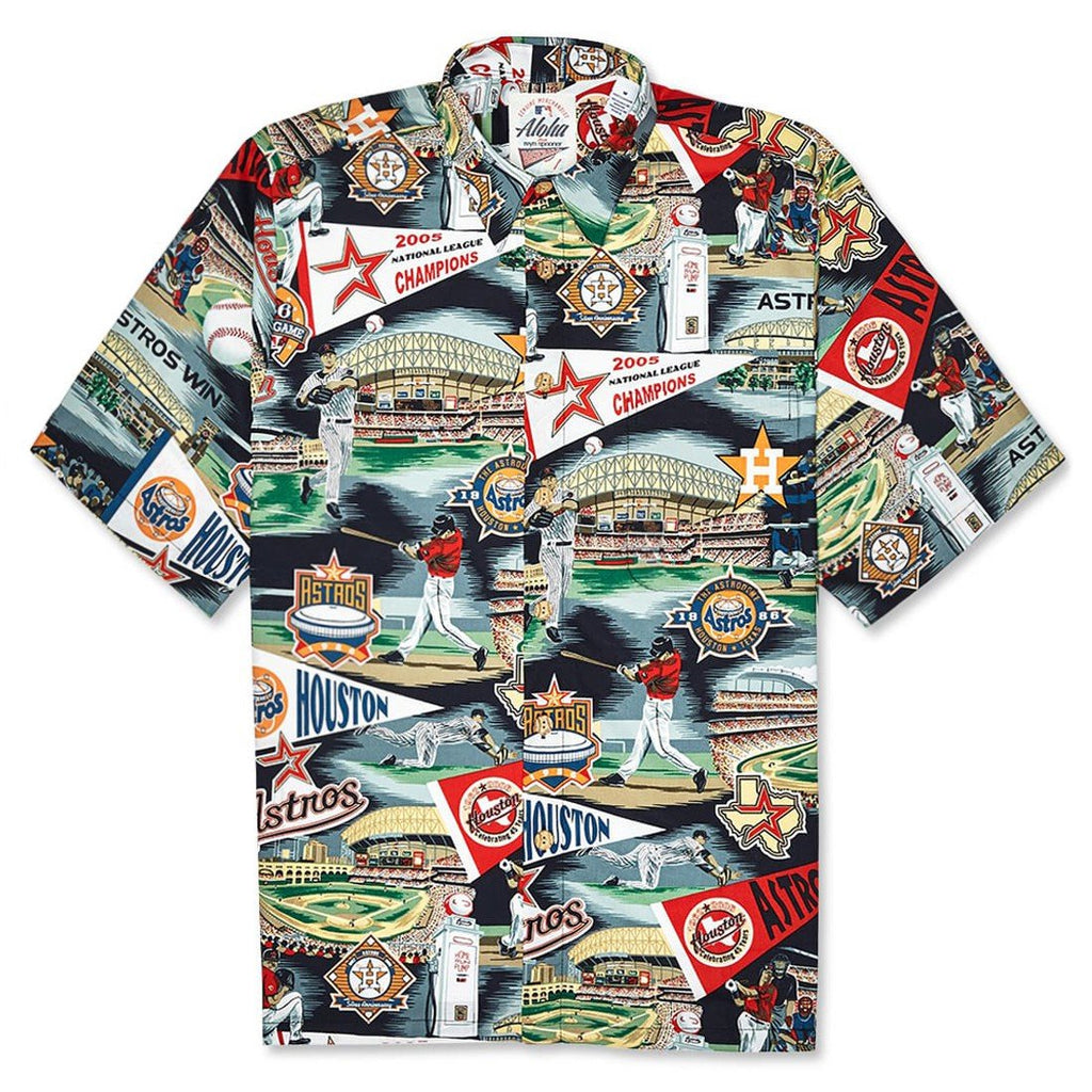 Reyn Spooner Houston Astros 2018 Shirt in SCENIC