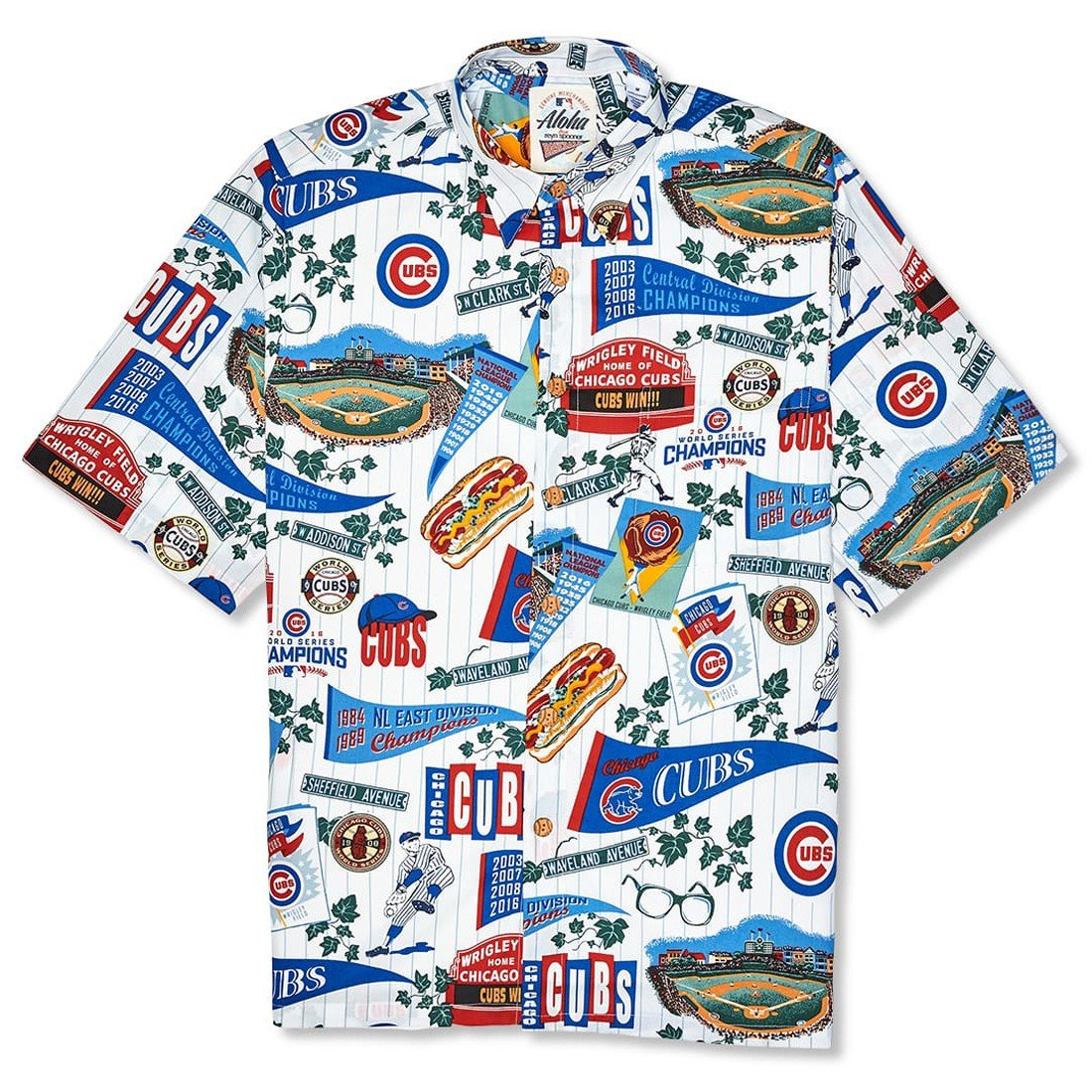 CHICAGO CUBS 2018   CLASSIC FIT BUTTON FRONT – reynspooner.com 12a7e8b0b