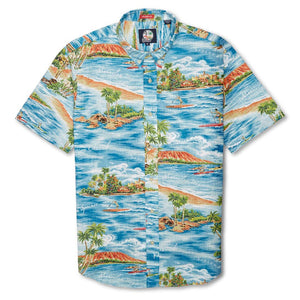 DOWNWIND PADDLER / TAILORED FIT BUTTON FRONT
