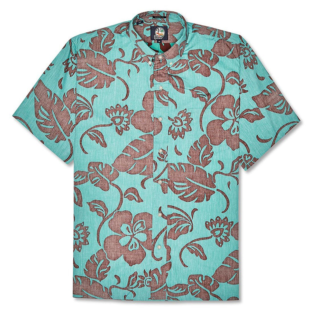 Reyn Spooner Papeete Pareau Classic Fit Shirt in LAGOON