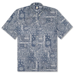 de32e1237b47 Reyn Spooner Aloha Bandana Classic Fit Button Front Shirt in INK ...