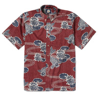 Reyn Spooner Kyoto Ponds Classic Fit in CRIMSON