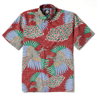 Reyn Spooner Osaka Dream Classic Fit in CRIMSON
