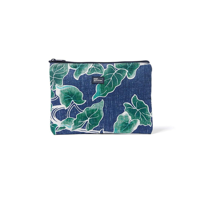 Reyn Spooner Food & Wine Cosmetic Bag in MEDIEVAL BLUE