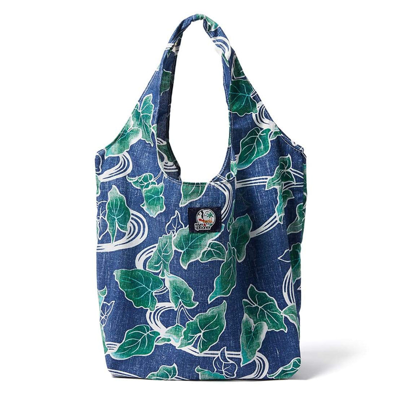 Reyn Spooner Food & Wine Large Shopping Bag in MEDIEVAL BLUE