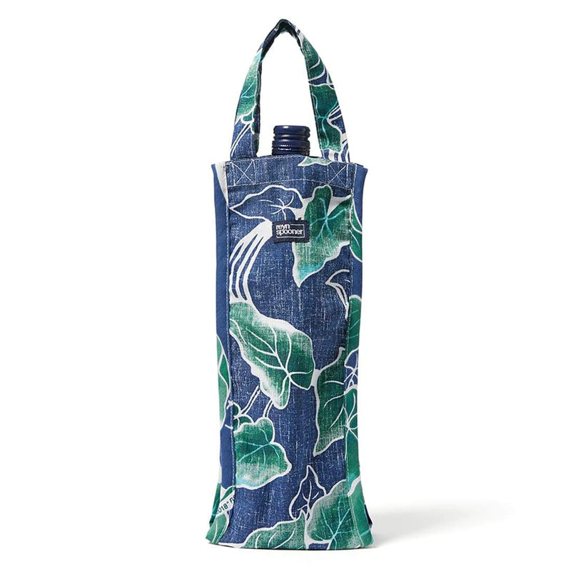 Reyn Spooner Food & Wine Wine Bag in MEDIEVAL BLUE