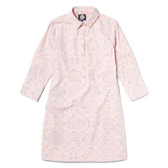 Reyn Spooner Think Pink Womens Shirt Dress in PINK