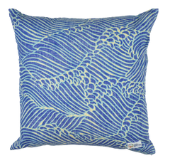 Molokai Channel Indigo Pillow Cover Set