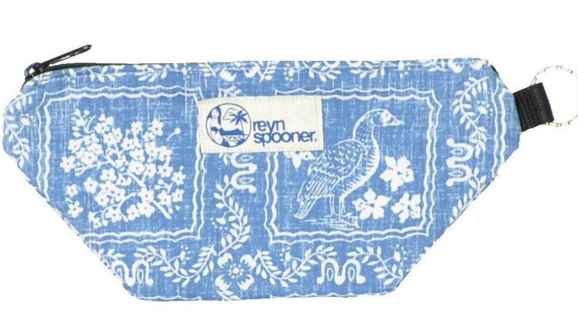 LAHAINA SAILOR / SMALL ZIP POUCH - Zoomed