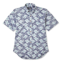 Reyn Spooner Loko Kuapa Hawaiian Shirt in NAVY