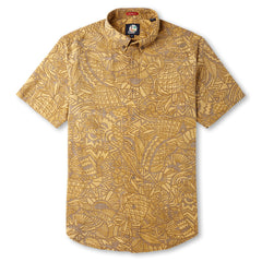 Reyn Spooner Hidden Tropics Hawaiian Shirt in RUST