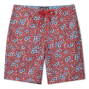 "COUNTRY HIBISCUS / BOARDSHORTS • 8"" INSEAM"
