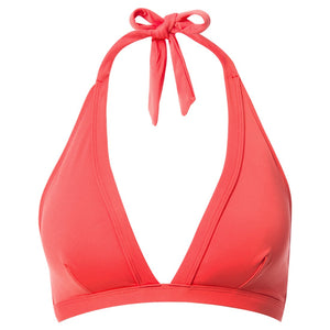 Reyn Spooner Halter Hook Back Bikini Top RED