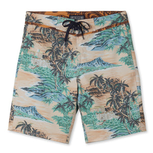"DIAMOND HEAD / 4-WAY STRETCH BOARDSHORTS • 9.5"" INSEAM"