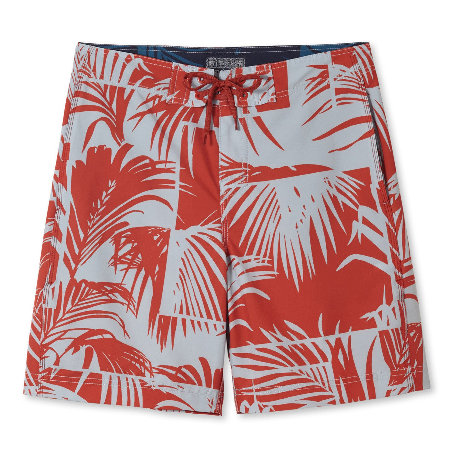 PALM VIEW / 4-WAY STRETCH BOARDSHORTS • 8 INCH INSEAM - Zoomed