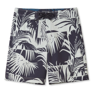 "PALM VIEW / 4-WAY STRETCH BOARDSHORTS • 8"" INSEAM"