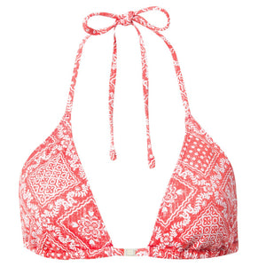 Reyn Spooner Diagonal Lahaina Triangle Bra RED