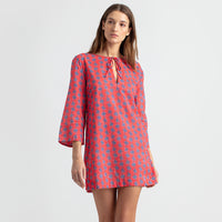 Reyn Spooner My Maui Palm Tunic RED