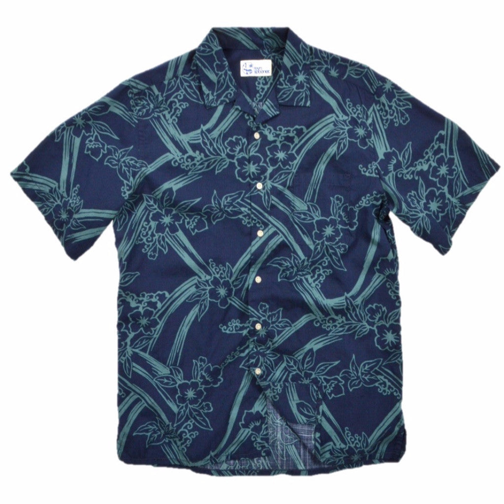 ALOHA SAKURA / CLASSIC FIT • BUTTON FRONT - Zoomed