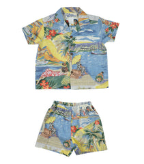 Trans Pacific 40's Shirt and Bottom