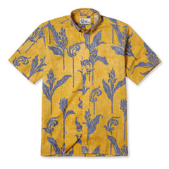 Reyn Spooner Walea Hawaiian Shirt in YELLOW