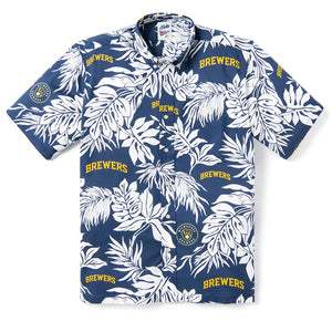 Reyn Spooner MILWAUKEE BREWERS ALOHA MLB® in NAVY