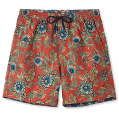 Reyn Spooner Corsica Swim Trunks in BRICK