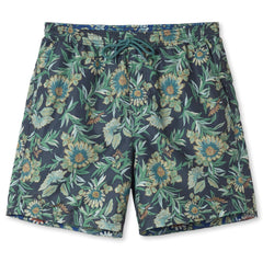Reyn Spooner Corsica Swim Trunks in CHARCOAL