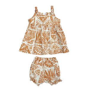FOREST TAPA / SUNDRESS • 6M TO 18M