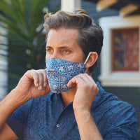ALOHA MASKS WITH FILTER POCKET / Rayon & Cotton