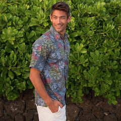LEHUA BLOSSOMS / CLASSIC FIT  • BUTTON FRONT