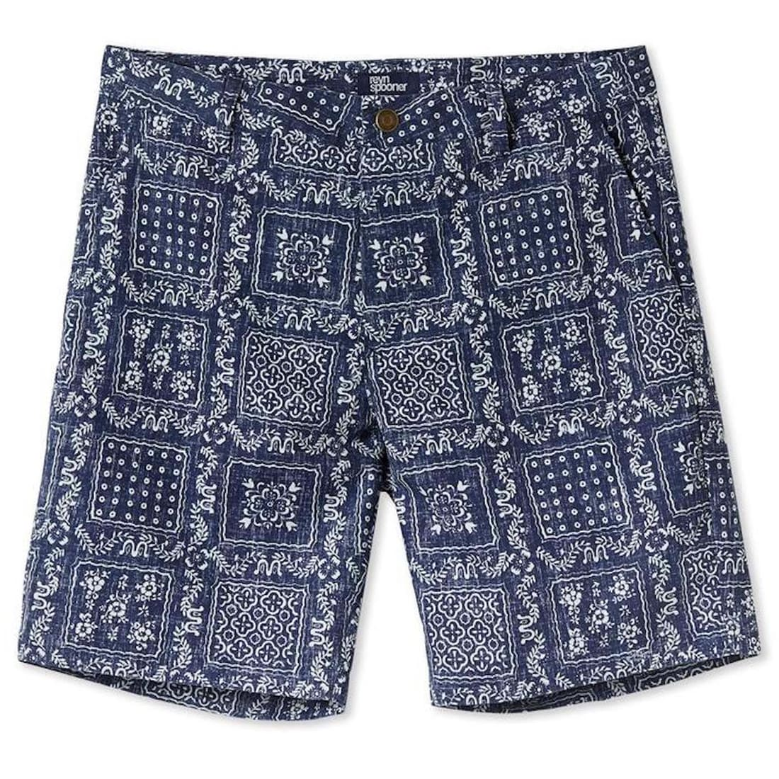 Original Lahaina Standard Fit Original Lahaina / Chino Shorts - For Men - 30 - Ink Blue From Reyn Spooner M461280518-INK-30