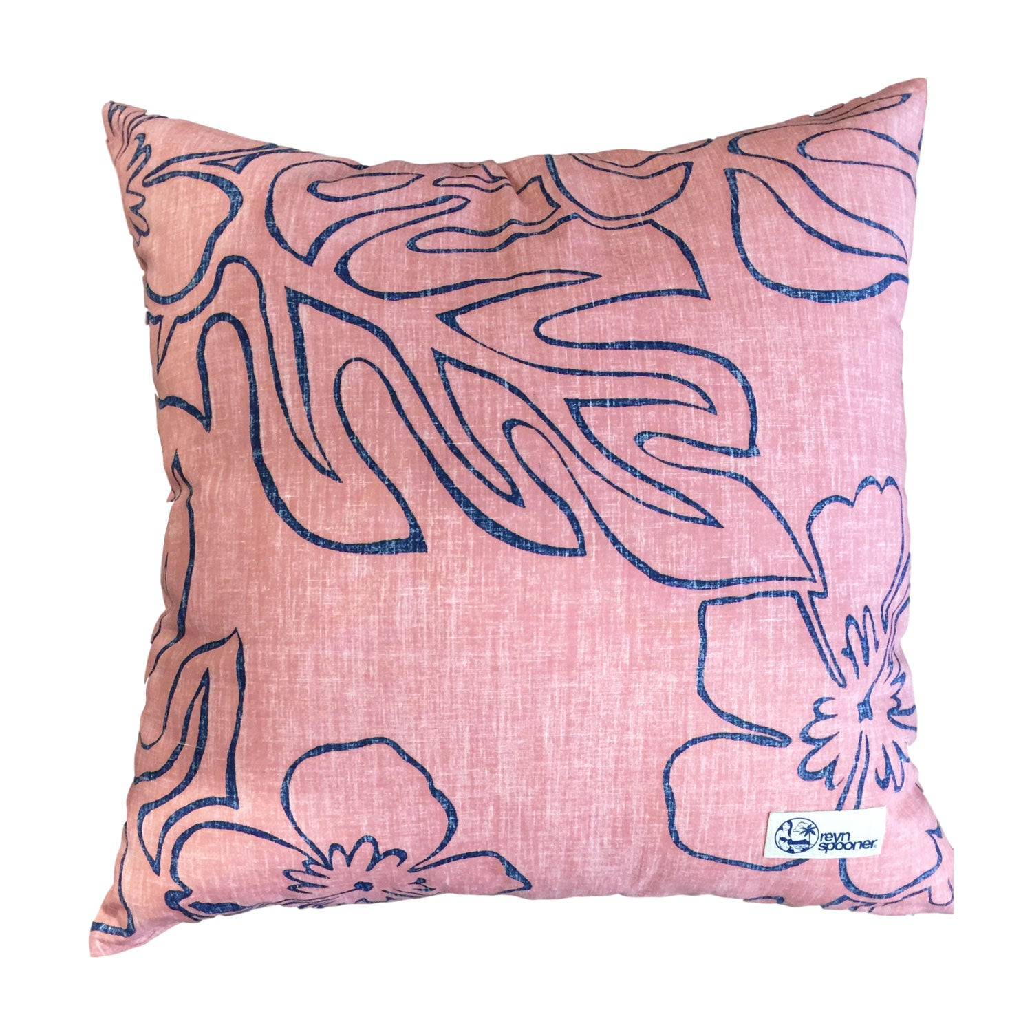 2017 THINK PINK MONSTERA INK / PILLOW COVER SET - Zoomed