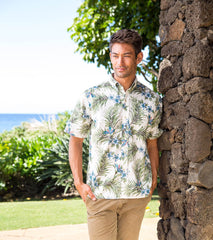 Plumeria Palms Classic Men's Shirt