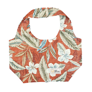 PLUMERIA ISLES / LARGE REUSABLE BAG