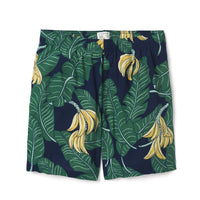 Reyn Spooner Monkey Forest Camp Short MEDIEVAL BLUE