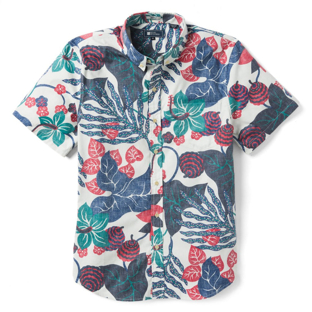 Reyn Spooner San Clemente Tailored Fit 2.0 Shirt in COCONUT MILK