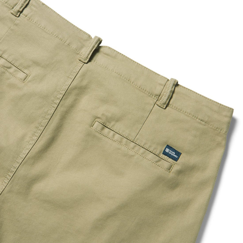 Reyn Spooner Stretch Herringbone / Shorts in CORIANDER KHAKI
