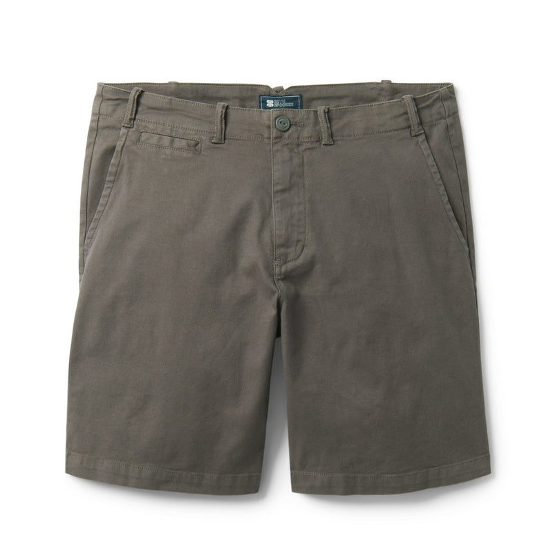 Reyn Spooner Stretch Herringbone / Shorts in PAVEMENT GREY
