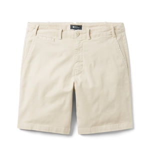Reyn Spooner Stretch Herringbone / Shorts in RAINY DAY STONE